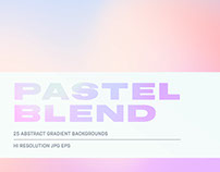 Pastel Blend - Gradient Background Pack