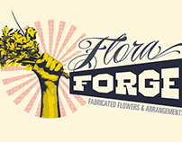 Flora Forge branding