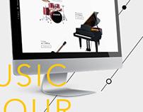 Music academy promosite