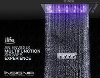 iLife - 32x32 Rain Shower