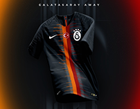 Galatasaray Away Kit Design