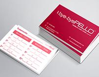 Cartão de Visita bye-byePello