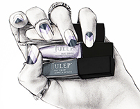 Beauty illustration for Julep