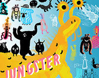 VISUAL IDENTITY FOR JUNGSTER DJ CREW
