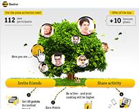 Diseño de Facebook App para ¨Beeline¨
