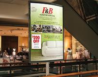 Poster Ad Design for Furniture & Beyond