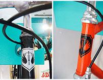 Balcón de Bicicletas - Escudo
