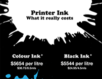 Printer Ink – What it Really Costs