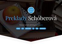 Preklady Schóberová - personal website