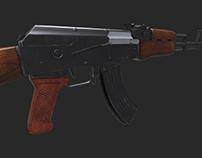 AK Assault Rifle (Mobile Games)