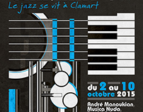 Jazz à Clamart Poster - Competition - May 2015