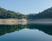 Zaovine lake, august 2018