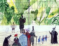 """The Crocodile"", F. M. Dostoyevsky // illustrations"