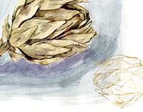 Artichoke Life Drawing