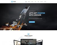 Gregor - Business PSD Template