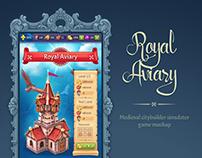 Royal Aviary [game mockup | Art + UI]