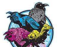 CMYK BIRDS