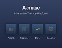Amuse Therapist Web Interface