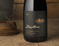 Zaca Mesa Wine Label & Packaging