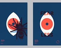 Baillat 1st year anniversary posters - FEARLESS DESIGN