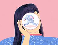 Hard//Hoofd: Editorial Illustrations