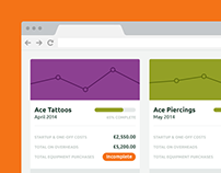 Finanscapes: Redesigning a web-app for start-ups