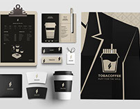 TOBACOFFEE Cafe Branding