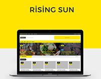 Minion Website Template