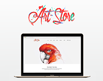 ART STORE - Logo concepts