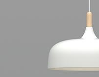 3d model+render Acorn Lamp by Atle Tveit.