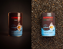 KIMBO COFFEE - PRODUCT PHOTOGRAPHY