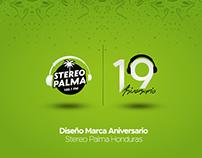Diseño de Marca - 19 Aniversario