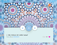 Audio Song UI - Sami Yusuf
