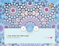 Audio Song UI - Sami Yusuf