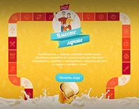 html-games for unilever promo
