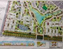Intervenção de urbanismo e paisagismo - Bairro Égualité