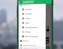Evernote 6 for Android - Video Motion Graphics