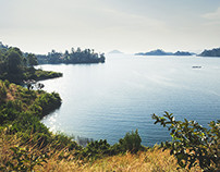 A Light Journey at Lake Kivu, Rwanda
