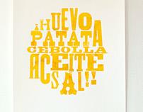 Tortilla Print