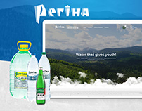 Mineral Water Regina - Website Design