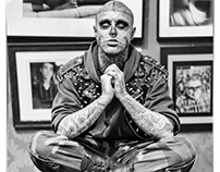 Rick Genest - Inked Magazine 2012