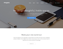 Mxpro - MultiPurpose HTML5 Template With Page Builder