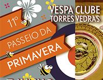 Cartaz Primavera | Vespa Clube Torres Vedras