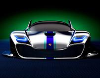 Porsche 90's Future Concept