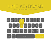 Lime Keyboard / First personal experiment