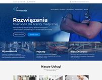 Web design - Medical finance