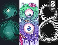 Sekiz.com (Eight) T-shirt Designs