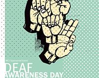 Deaf Awareness Poster - University of Tenn. Knoxville