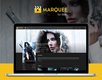 Marquee Movie Website