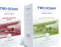 Two Oceans 5L Wine Packaging